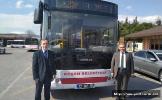 AK Partili belediyeye, CHP'li belediyeden hibe otobüs