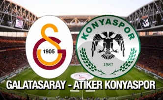 Galatasaray - Konyaspor: 1-1 (ÖZET)