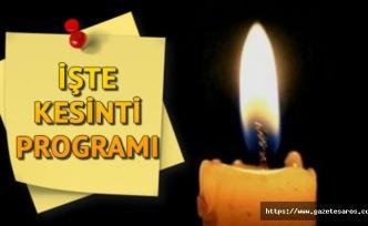 İpsala'da planlı elektrik kesintisi uygulanacak