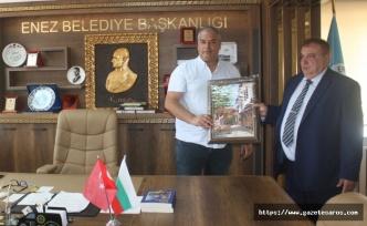 """Enez'e Bulgaristan'dan """"kardeş belediye"""" geliyor"""