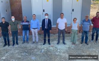 Başkan Gergin, Kocaali'deki su tesisine ziyarette bulundu
