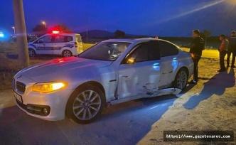 Enez Belediye Meclis Üyesi, trafik kazası geçirdi