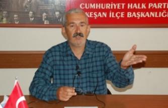"""CHP Keşan, """"esnaflar kapalı, AKP'liler toplu iftar yapıyor"""""""