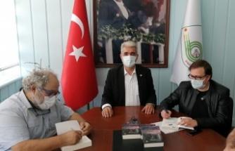Ersin Şenerler ve Kerem Bozkurt'tan Başkan Ünsal'a ziyaret