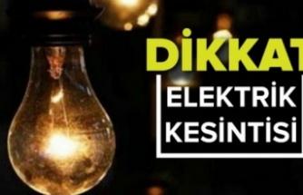Keşan mahalle ve beldeleri için planlı elektrik kesintisi duyurusu