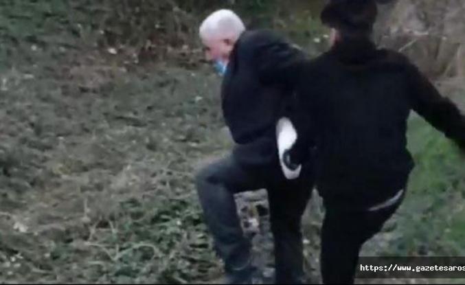 Yaşlı adam, köpeğe tecavüz ederken yakalandı