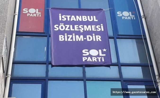 """SOL Parti'nden """"pankart"""" açıklaması"""