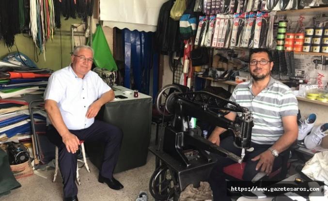Başkan Dalkıran'dan esnafa moral ziyareti