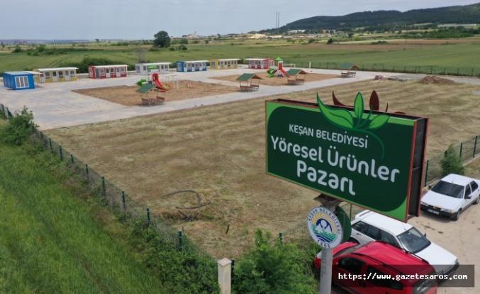 Trakya'nın en büyük 'Yöresel Ürünler Pazarı' açılıyor