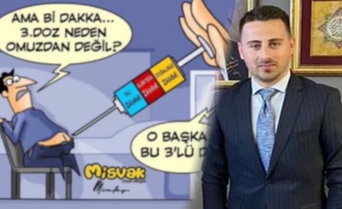 AK Parti Gençlik Kolları Başkanı görevinden istifa etti